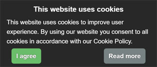 cookie modal example