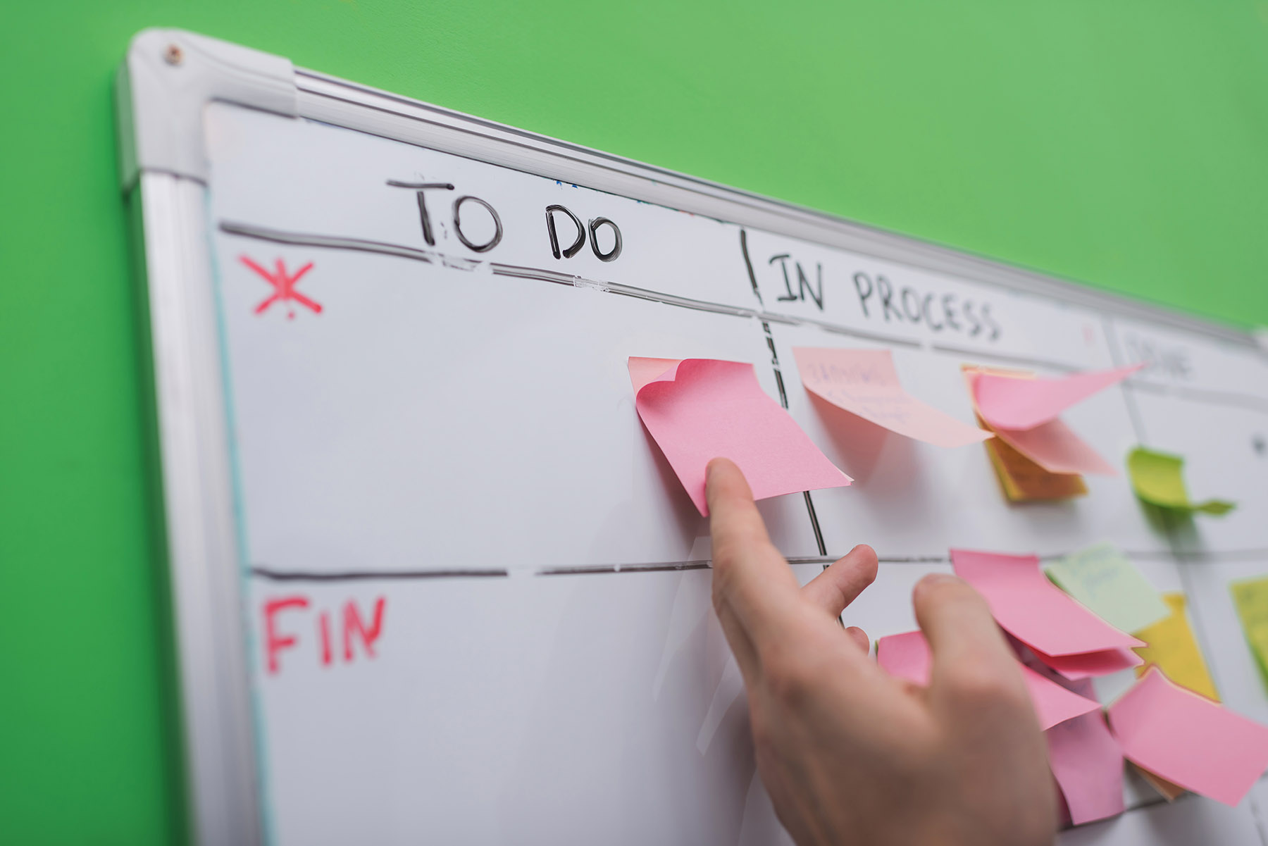 To dos in a project planning