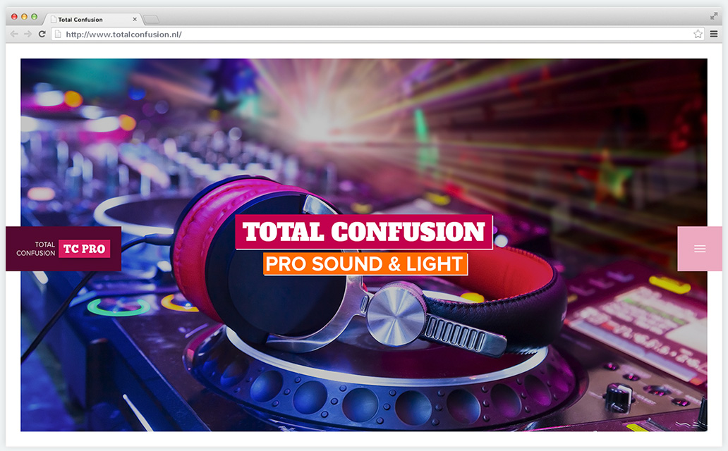 Total Confusion - light, sound, and party rental | Rocket Minds